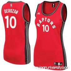 Women's Toronto Raptors DeMar DeRozan adidas Red Road Replica Jersey -   2609202