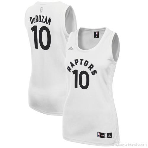 info for 13b1d e06c0 Women s Toronto Raptors DeMar DeRozan adidas White Fashion Replica Jersey -  2660794