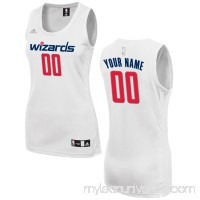 Women's Washington Wizards adidas White Custom Fashion Jersey -   2649743