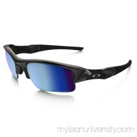 Flak Jacket XLJ PRIZM Deep Water Polarized in POLISHED BLACK / PRIZM Deep Water Polarized |   OO9009-11