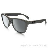 Frogskins Metals Collection (Asia Fit) in LEAD / BLACK IRIDIUM |   OO9245-35