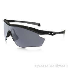 M2 Frame XL in POLISHED BLACK / GRAY   OO9343-01