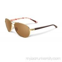 Oakley Women Feedback Sunglasses : Feedback Gold OO40799-08    700285863283