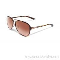 Oakley Women Kickback Sunglasses : Kickback Tortoise Rose Gold OO4102-01    888392072320