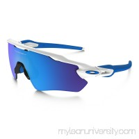 Radar EV XS Path (Youth Fit) in POLISHED WHITE / SAPPHIRE IRIDIUM |   OJ9001-0131