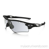RadarLock Path Photochromic in POLISHED BLACK / CLEAR BLACK IRIDIUM PHOTOCHROMIC ACTIVATED |   OO9181-36