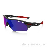 RadarLock Path Polarized in MATTE BLACK INK / OO RED IRIDIUM POLARIZED |   OO9181-23