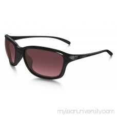 She's Unstoppable Polarized in POLISHED BLACK / ROSE GRADIENT POLARIZED |   OO9297-01