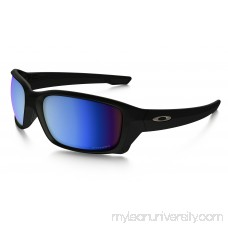 Straightlink PRIZM Deep Water Polarized in MATTE BLACK / PRIZM Deep Water Polarized | OO9331-05