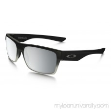 Twoface Machinist Collection (Asia Fit) in MATTE BLACK / CHROME IRIDIUM | OO9256-12