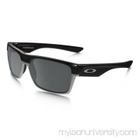 TwoFace Polarized (Asia Fit) in POLISHED BLACK / BLACK IRIDIUM POLARIZED |   OO9256-06