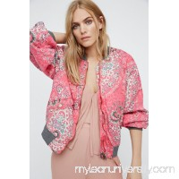 Printed Bomber Jacket   40613721