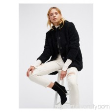 Sherpa and Knit Liner Coat 40411118