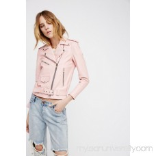 Understated Leather Easy Rider Pink Leather Jacket 41562687