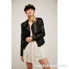 Vegan Leather Band Jacket 40394611