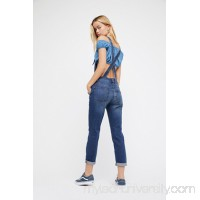 Washed Denim Overall   26820217