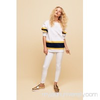White High Rise Roller Skinny    33319732