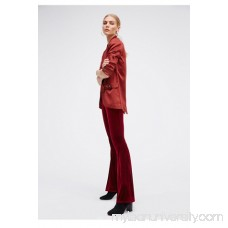Float Away Velvet Solid Flare 40289282