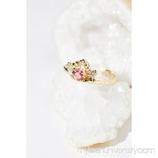Communion by Joy Smith 14k Diamond Tourmaline Ring   41189572