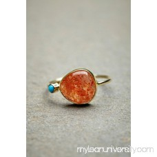 Dream Collective for Free People  14K Sunstone Slice Ring   35089085