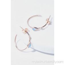 Misa Jewelry 14k Guided Light Diamond Hoops 42070300