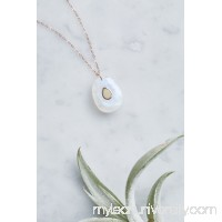 Orso Opal Embedded Moonstone Necklace   39199765