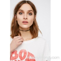 Pascale Monvoisin x Free People Orso Raw Stone Suede Choker   40690414
