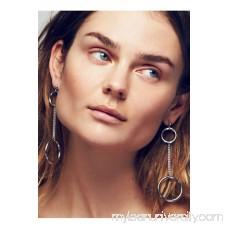 REGAL ROSE Solene Hoop Pendulum Earrings 41765520