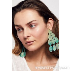 We Dream In Colour Hibiscus Patina Earring 42344606