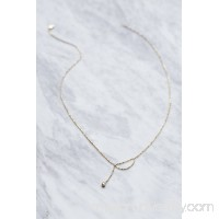 Xiao Wang  14k Ball Chain Diamond Necklace   39229117
