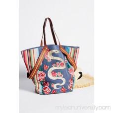 Pandora Embroidered Tote 41562372