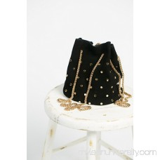 Studded Suede Party Pouch 41080672