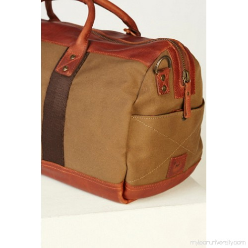 Will Leather Goods Atticus Leather x Canvas Duffel 41098211