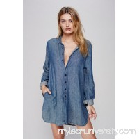 CP Shades x Free People Flannel Tunic Solid   40109316