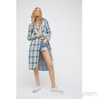 Free People x CP Shades Doublecloth Plaid Maxi   42198861