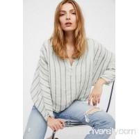 Free People x CP Shades Striped Dolman Swing Blouse   42392639