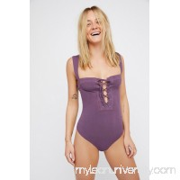 Intimately Dusted Plum Philo Bodysuit   38253167