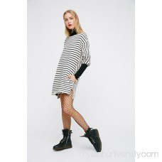 Ivory / Black Come On Over Striped Tunic 39811450