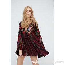 Just The Two Of Us Mixed Printed Tunic   40798621